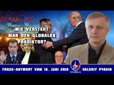 Über das Verständnisnivneau (2018.06.18 Valeriy Pyakin)