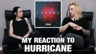 Metal Drummer Reacts: Hurricane by I Prevail