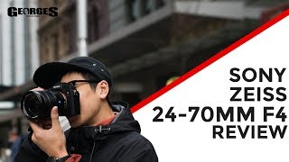5 YEARS OLD! Still Worth It? | Sony Zeiss 24-70 F/4 Review by Georges Cameras