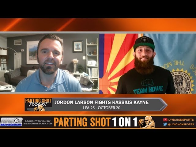 LFA 25's Jordon Larson talks Kassius Kayne, Power MMA and Sons of Anarchy