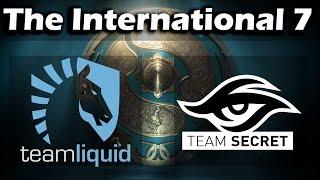 [LIVE RU] Liquid vs Secret (BO2) , Dota 2 The International 2017 - Group Stage