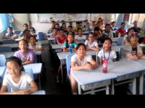 Xili primary school ShenZhen CHINA say hello to DCI Soundsport