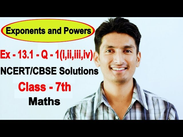 Chapter 13 Exercise 13.1 Question 1 - Exponents and Powers Class 7 Maths - NCERT Solutions
