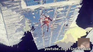 NieR: Automata - Self-destruct Jump (A New Technique)