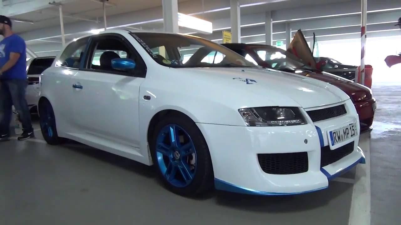 Storage For Cars >> FIAT STILO blue/white italia-style   TurboDay 3.0 - YouTube