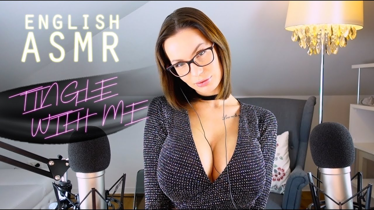 ASMR very Intense Breathing Sounds to Relax  Tingle with me english Whispering