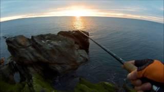 морская рыбалка на спиннинг с берега 2017 открытие сезона