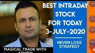 BEST INTRADAY STOCK FOR TODAY 3 JULY;NIFTY,BANKNIFTY, ACC,RELIANCE