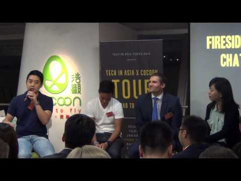Tech In Asia @CoCoon Summer 2015 July 10th - Fireside Chat