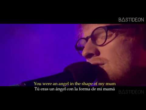 Ed Sheeran - Supermarket Flowers (Sub Español + Lyrics)