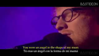 ed sheeran supermarket flowers sub español lyrics