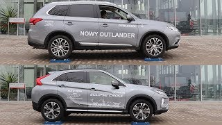 2018 Mitsubishi Eclipse Cross S-AWC vs Outlander AWC - 4x4 test on rollers - part 2