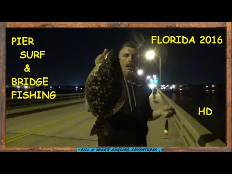 PIER , SURF and Intracoastal FISHING -  DAYTONA FLORIDA