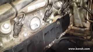 Причина недостатнього наддуву на 651-м двигуні Mercedes Sprinter — лопнутый впускний колектор