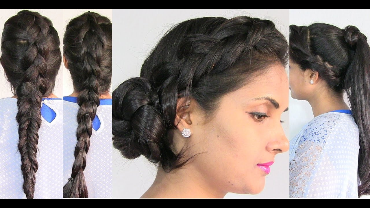 Easy and Cute Summer Hairstyles for Girls and Women - Hindi