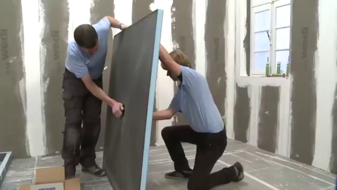 Как сделать душевую комнату с помощью Руспанель Ruspanel
