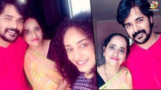 ശ്രിനിഷിന്റെ അമ്മയ്ക്ക് മേക്കോവര് നടത്തി പേളി | Pearle Maaney With her Mother in law | Srinish