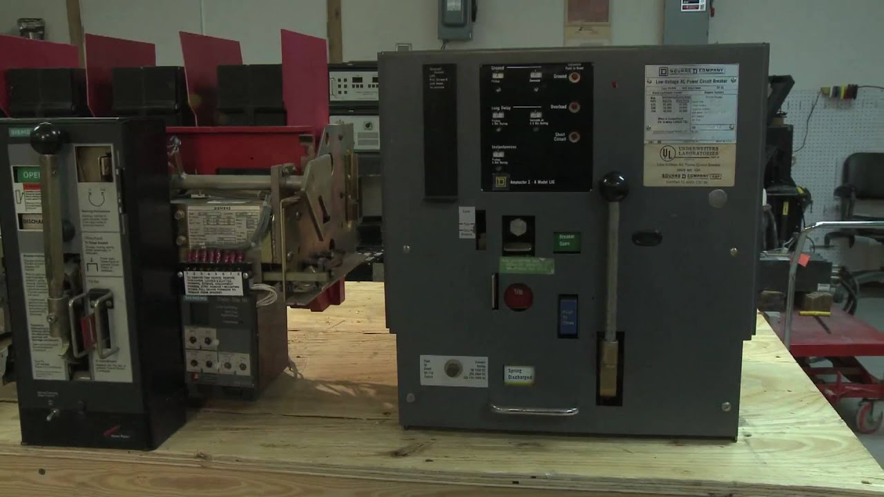 Identifying Air Circuit Breakers Youtube Enclosed Breaker Enclosure