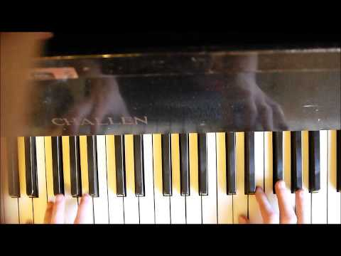 Ed Sheeran -  Kiss Me Piano - Tutorial