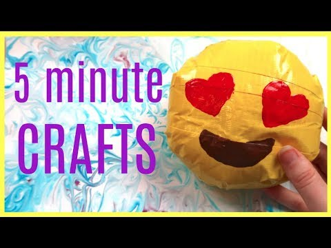 5 minute crafts to make when you are bored! + GIVEAWAY! Squishies, Giftcards + More!