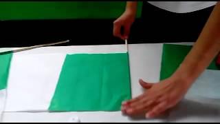 Tutorial Para Hacer Banderas De Papel Con Mariana Youtube