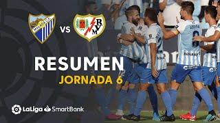 Resumen de Málaga CF vs Rayo Vallecano (1-1)