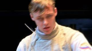 Final. CHOUPENITCH Alexander (CZE) - BORODACHEV Kirill (RUS). Foil men.