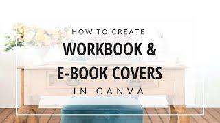 Canva البرنامج التعليمي: كيفية إنشاء مصنف & E-أغلفة الكتب