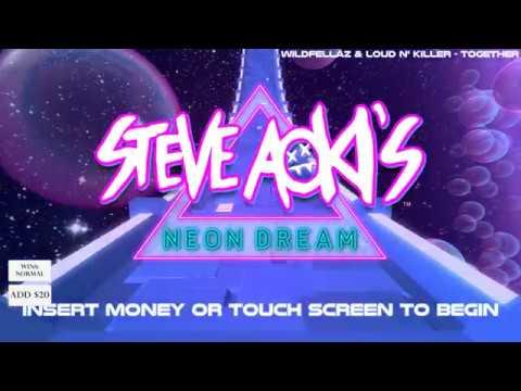 Steve Aoki's Neon Dream Gambling Machine