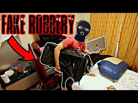 DISNEY HOTEL ROBBERY PRANK ON FRIENDS!