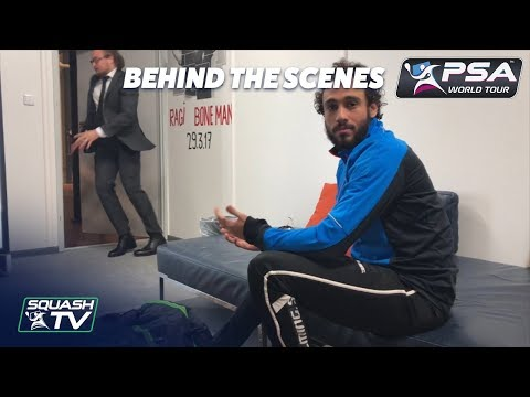 Squash: Behind The Scenes - Grasshopper Cup 2018