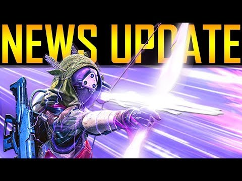 Destiny 2 - NEWS UPDATE! EXOTIC CONTROVERSY!