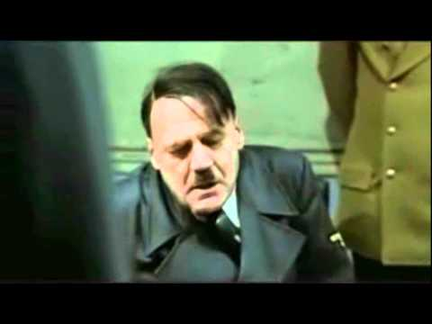 "Hitler's reaction after hearing Rebecca Black's ""Friday"""