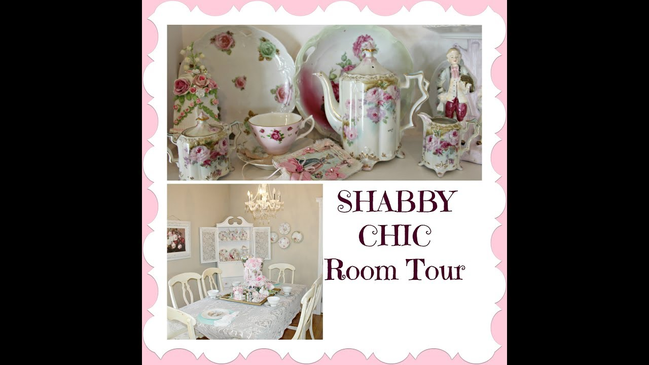 💖SHABBY CHIC DINING ROOM💖Decorate With Me
