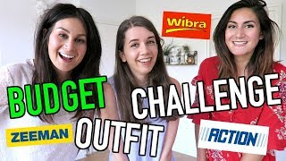 BUDGET OUTFIT CHALLENGE MET BONCOLOR!