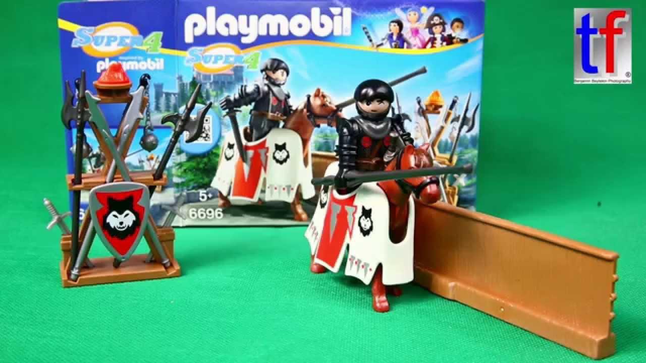 playmobil 6696 super 4 rypan guardian o t black baron. Black Bedroom Furniture Sets. Home Design Ideas