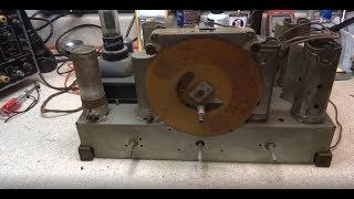 Repair Of A 1938 Philco 38 5 Tube Radio Chassis