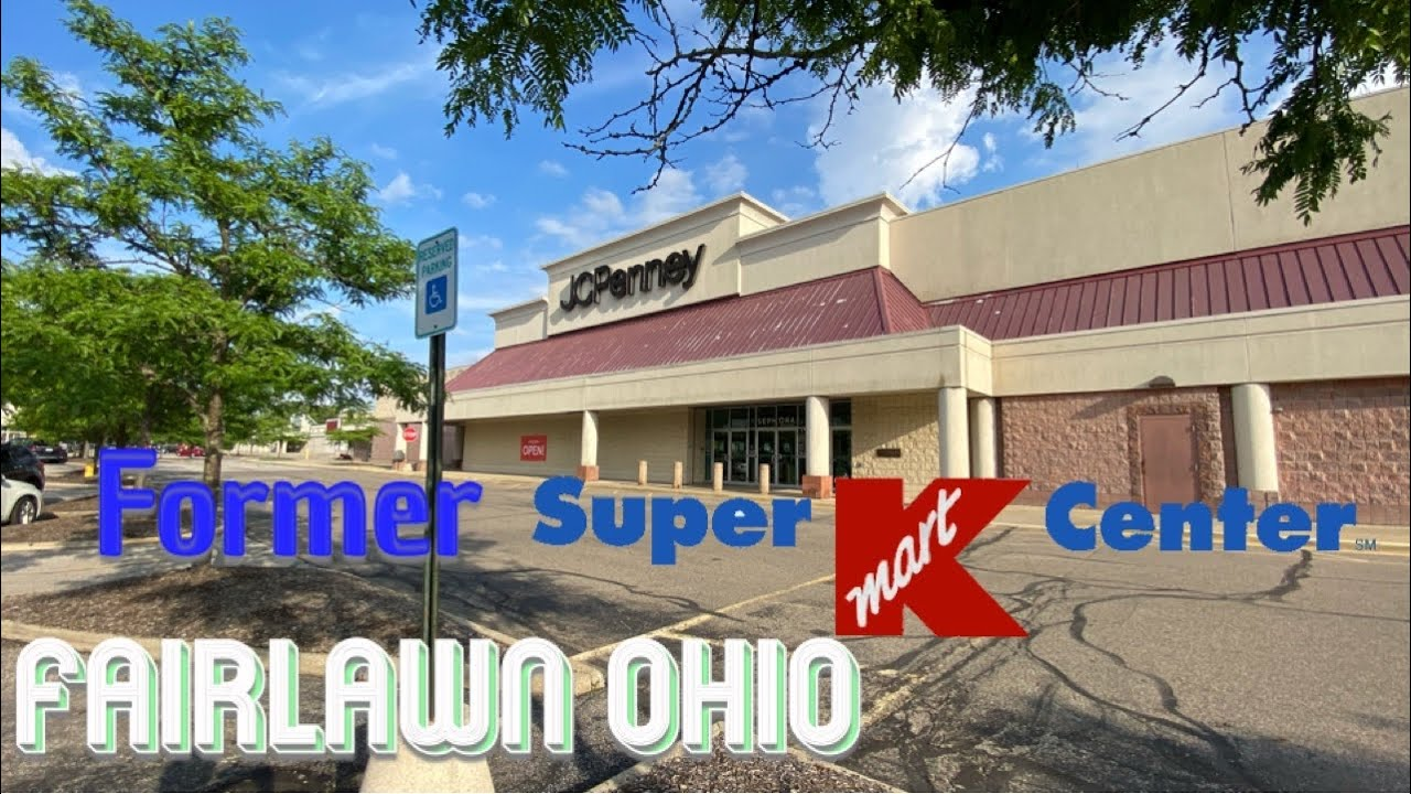 JCPenney Store Tour In Former Super Kmart - Fairlawn Ohio