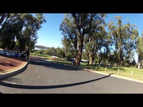 Winters motor cycle ride in Perth Australia