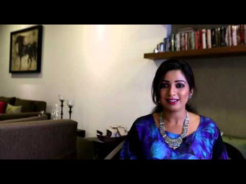 Shreya Ghoshal's personal invitation to the Tampa bay fans
