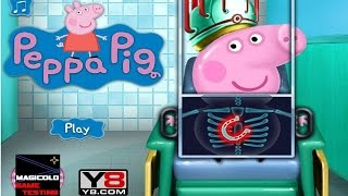 y8 games to play peppa pig doctor gameplay on y8 com 2016