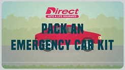 How to Pack an Emergency Car Kit