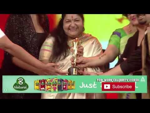 Ks Chitra | Female vocalist of the year | Mirchi music awards south