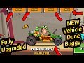 Hill Climb Racing 2 New Vehicle DUNE BUGGY Fully Upgraded