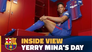 [BEHIND THE SCENES] 24 hours with Yerry Mina