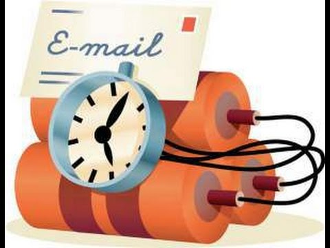 How to send a self destructing or automated destroying E mail easily