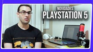 NOVIDADES sobre o PLAYSTATION 5 | Lançamento, Hardware, Controle e Mais!