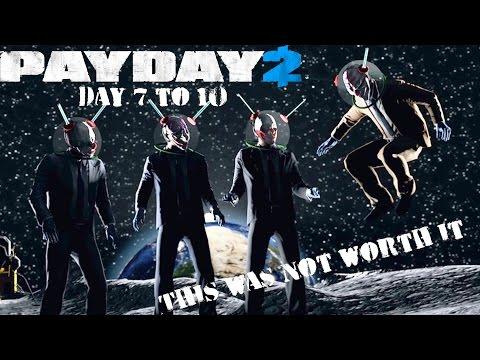 Payday 2 Crimefest Day 7 to 10 Recap