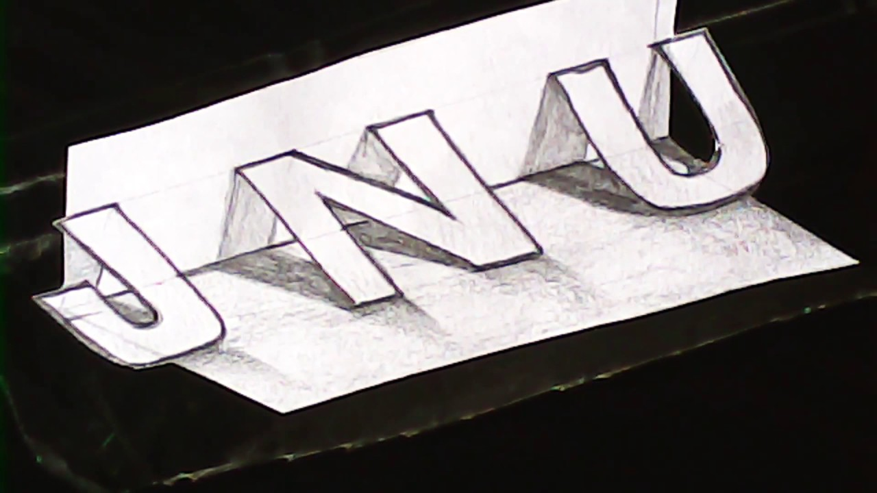 New Style 3D Lettering