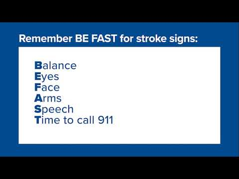 Providence Wellness Watch KGW May 2021 60 Stroke BE FAST – Dr. Yanase